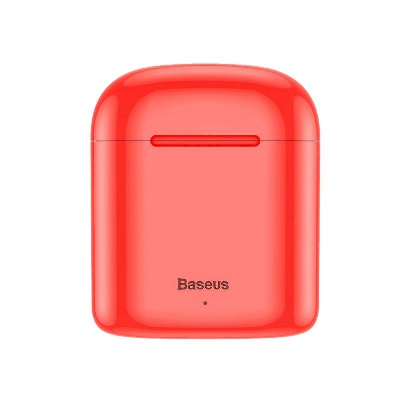 BASEUS zestaw słuchawkowy / słuchawki bluetooth TWS Encok True W09 czerwone NGW09-09