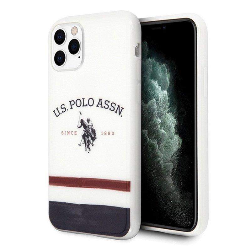 Oryginalne Etui US POLO Hardcase USHCN65PCSTRB do iPhone 11 Pro Max biały