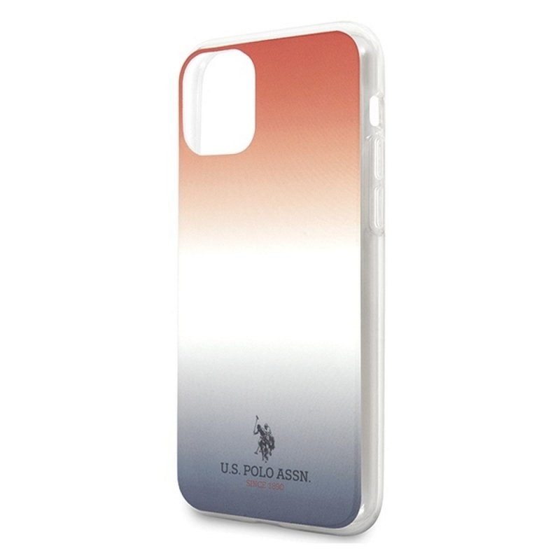 Oryginalne Etui US POLO Hardcase USHCN65TRDGRB do iPhone 11 Pro Max czerwono-niebieski