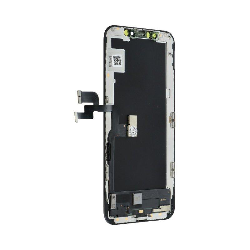 Wyświetlacz do iPhone Xs z ekranem dotykowym czarnym (GX Soft OLED)
