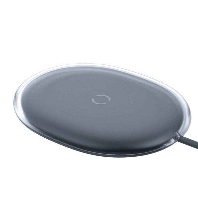 BASEUS ładowarka indukcyjna Jelly Qi 15W  czarny WXGD-01