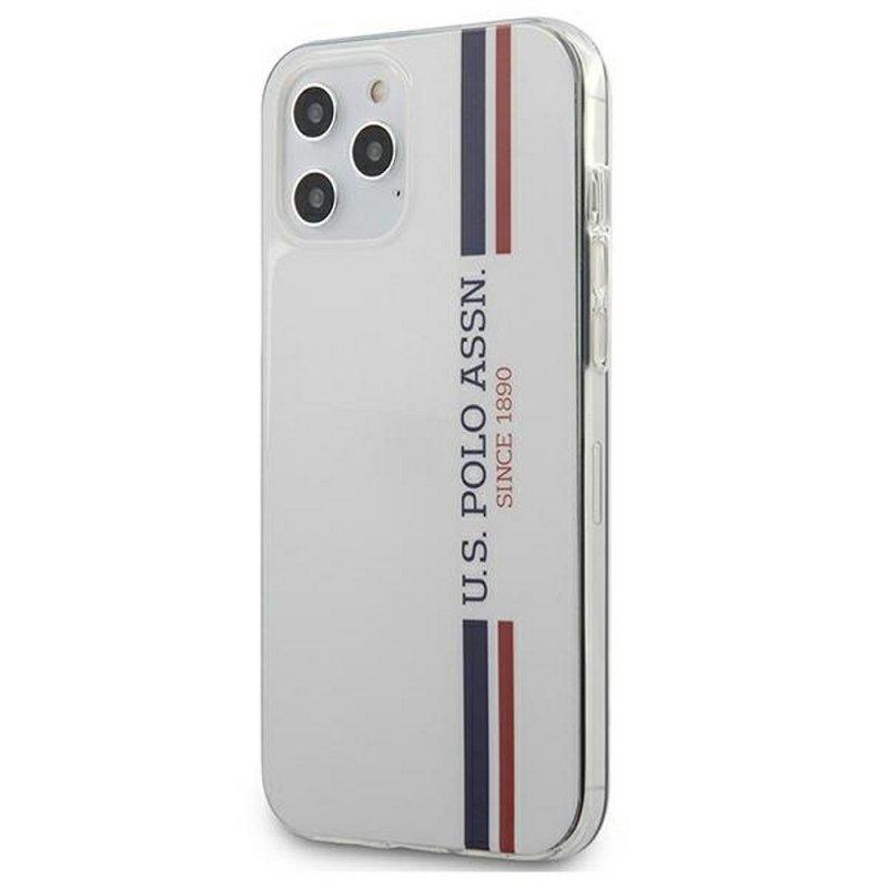 Oryginalne Etui US POLO Hardcase USHCP12LPCUSSWH do iPhone 12 PRO MAX biały
