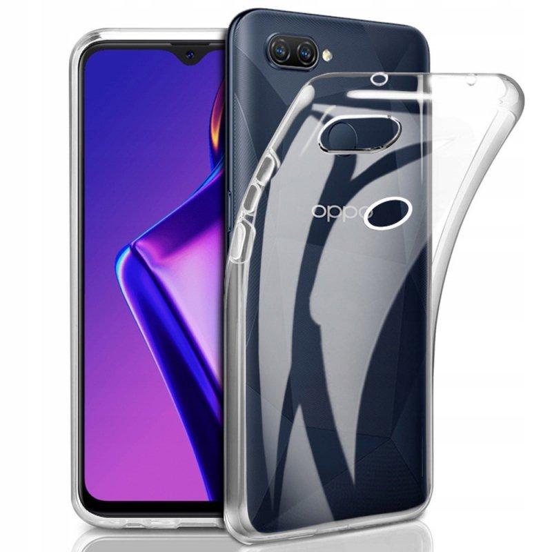 Futerał Back Case Ultra Slim 0,5mm do OPPO A12