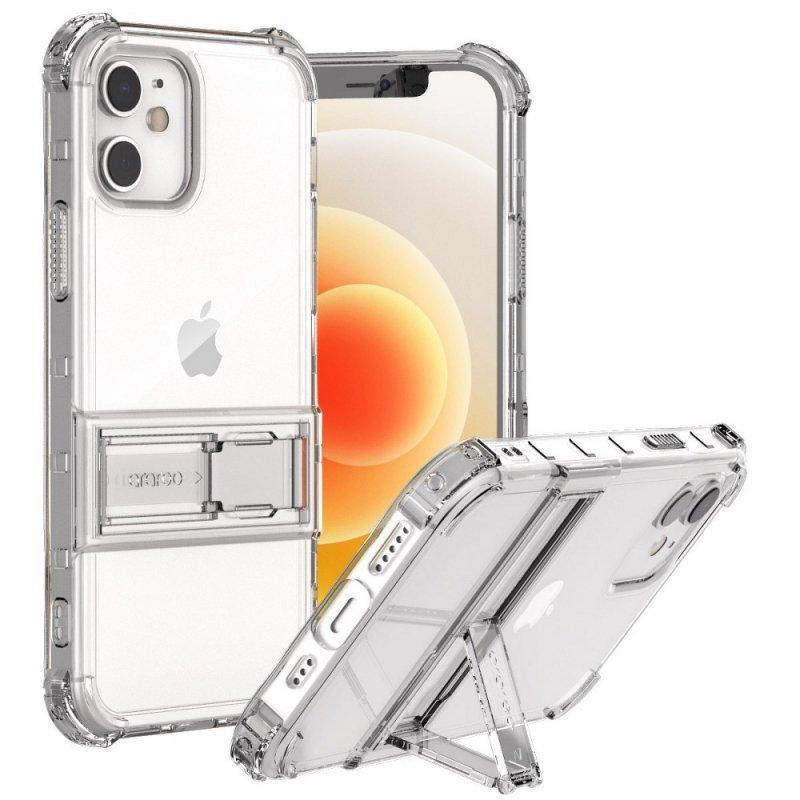 Futerał ARAREE Mach Stand do IPHONE 12 MINI transparent
