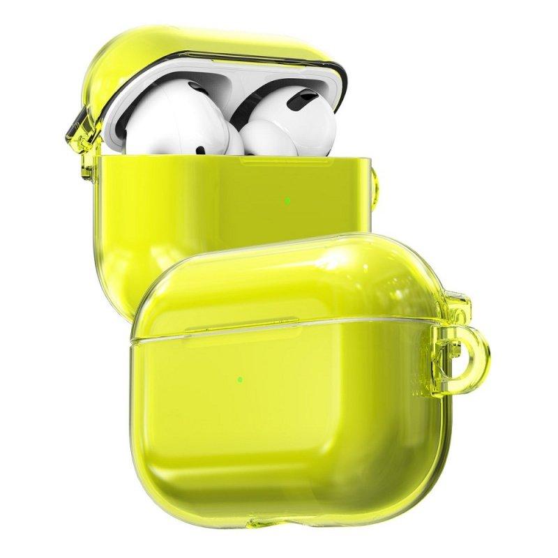 Futerał ARAREE Nukin do Airpods PRO neon yellow