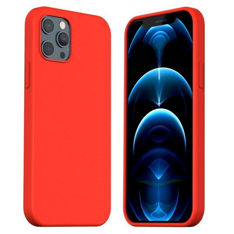 Futerał ARAREE Typoskin do IPHONE 12 PRO MAX czerwony