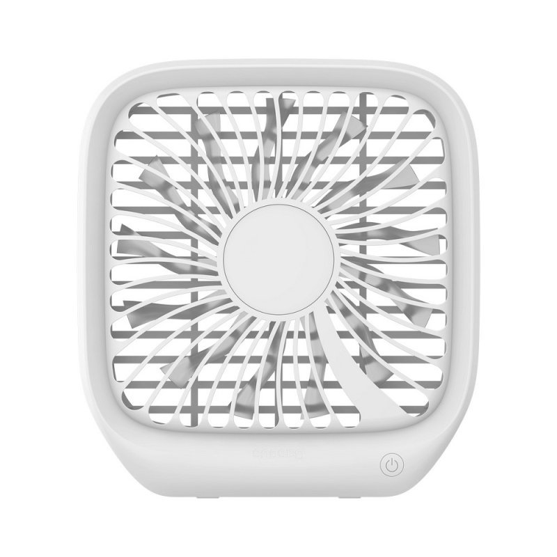 BASEUS wentylator / wiatrak samochodowy na zagłówek na USB biały CXZD-02