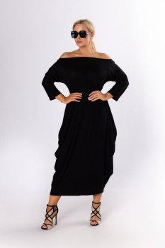 sukienka maxi oversize