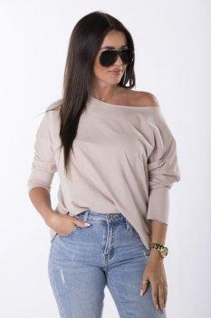 bluzka oversize z rękawem