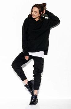 Modny komplet swetrowy z bojówkami LSG123