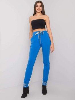 Spodnie dresowe-RV-DR-5980.12-niebieski