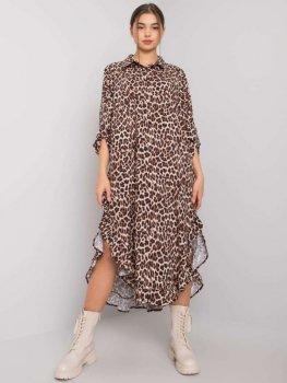 Sukienka-TW-SK-BI-32556-2.61P-beżowy
