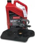 Syntetyczny olej Motorcraft MERCON V oraz filtr automatycznej skrzyni biegów Ford Explorer AWD 4,0 V6
