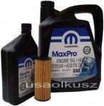Olej MOPAR 5W30 oraz oryginalny filtr Jeep Wrangler 3,6 V6 -2013