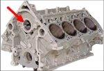 Zaślepka uczczelniacz wałka rozrządu Jeep Grand Cherokee V8 2005-