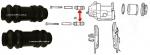 Osłonki prowadnic zacisku przedniego Chrysler Voyager Town&Country