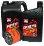 Filtr oleju oraz olej SUPREME 10W30 Plymouth Breeze 2,0 / 2,4 16V