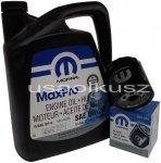 Olej MOPAR 5W20 oraz filtr oleju silnika Dodge Charger