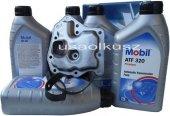 Filtr oraz olej Mobil ATF-320 automatycznej skrzyni biegów Nissan Altima 2,4 1993-1997