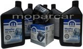 Filtr oraz olej MOPAR 10W30 Dodge Caravan -2006