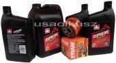 Olej 5W30 oraz filtr oleju silnika Chevrolet TrailBlazer 2007-