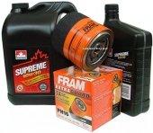 Filtr oleju FRAM PH16 oraz olej SUPREME 10W30 Chrysler Sebring 2,5 / 2,7 V6