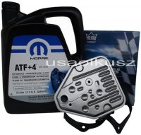 Olej MOPAR ATF+4 oraz filtr automatycznej skrzyni 3SPD Plymouth Voyager