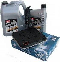 Filtr oraz olej Dextron-VI automatycznej skrzyni biegów 4SPD Dodge Avenger