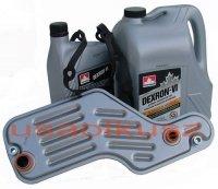 Filtr oraz olej Dextron-VI automatycznej skrzyni biegów 5R55 Mercury Mountaineer