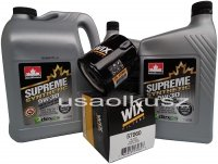Filtr oraz syntetyczny olej 5W30 Suzuki XL-7 2007-