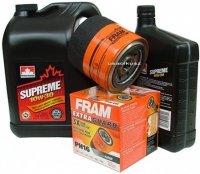 Filtr oleju oraz olej SUPREME 10W30 Dodge Nitro 4,0 V6
