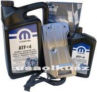 Olej MOPAR ATF+4 oraz filtr oleju skrzyni biegów AW4 Jeep Wrangler 1991
