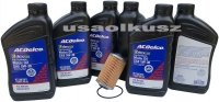 Filtr olej silnikowy 5W-30 Dexos2 Full Synthetic ACDelco Chevrolet Colorado 3,6 V6