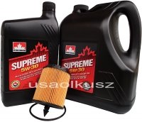 Filtr oraz mineralny olej 5W30 Chevrolet Orlando 2,4