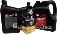 Filtr oraz mineralny olej 5W30 Hummer H2 2007-