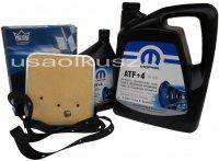 Olej MOPAR ATF+4 oraz filtr oleju skrzyni biegów 42RE Dodge RAM 1994-1997