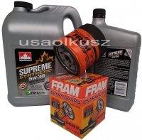 Filtr oraz syntetyczny olej 5W30 Oldsmobile Intrigue 3,8 V6