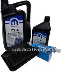 Filtr oraz olej MOPAR +4 skrzyni biegów 6-SPD 62-TE Chrysler Pacifica 2007-2008