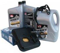 Filtr oraz olej Dextron-VI automatycznej skrzyni biegów 42RL Dodge RAM 3,7 2006-
