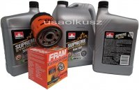 Filtr oraz syntetyczny olej 5W30 Buick Rendezvous 3,6 V6
