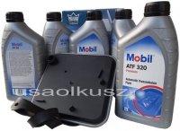 Filtr oraz olej Mobil ATF-320 skrzyni biegów Chrysler New Yorker 1994-1995