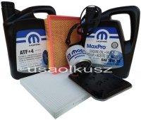 Olej MOPAR filtr kabiny powietrza oleju skrzyni Dodge Caravan 2001-2006
