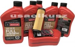 Filtr olej 5W30 Full Synthetic MOTORCRAFT Ford F-150 F150 2,7 V6
