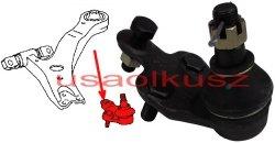 Sworzeń przedniego prawego wahacza dolnego Toyota Sienna 2004-2010 104308