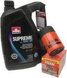 Filtr oleju oraz olej 10W30 Pontiac Firebird V6