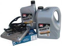 Filtr oraz olej Dextron-VI automatycznej skrzyni biegów 4SPD Dodge Spirit