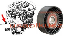 Rolka zwrotna paska MICRO Chrysler Pacifica 4,0 V6