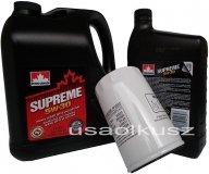 Filtr oraz mineralny olej 5W30 Chevrolet Astro 4,3 V6 -1999