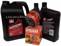 Olej 5W30 oraz filtr oleju silnika Saturn Outlook 3,6 V6