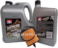 Filtr oraz syntetyczny olej 5W30 Chevrolet Equinox 2,4